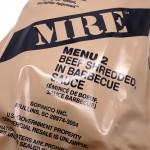 MRE ateriapakkaus menu 2