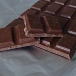 Lähikuva suklaasta