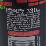 Battery Remix juoman ainesosat ja ravintosisältö