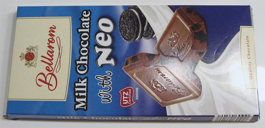 Milk Chocolate with NEO pakkaus