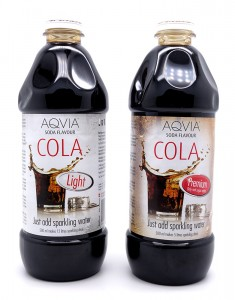 Aqvian sokeriton ja peruscola