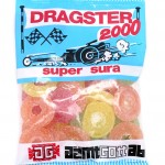 Dragster Super Sour makeisten pussi