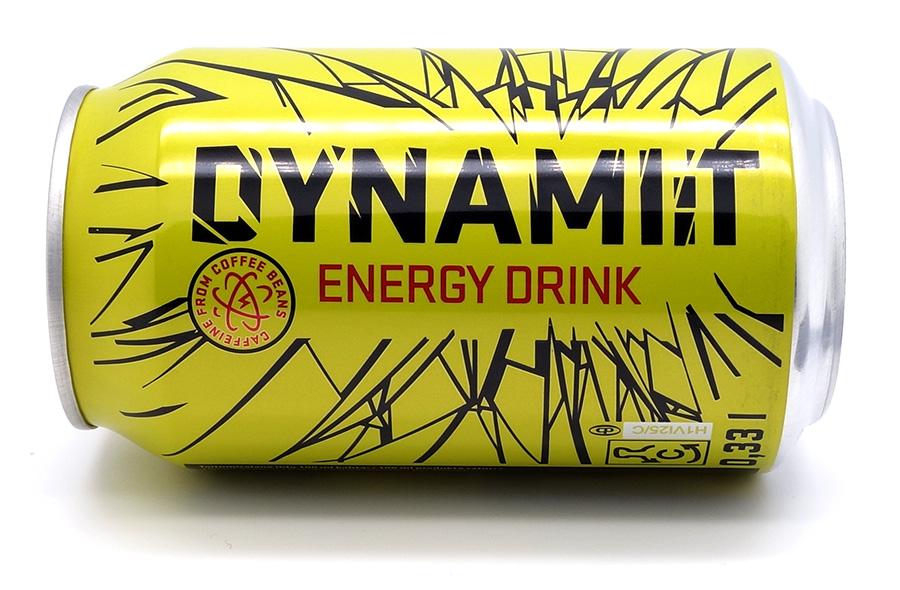 Dynamit energiajuoman tölkki