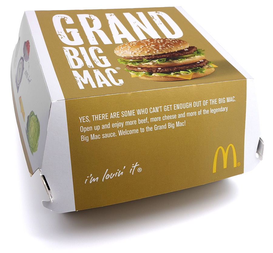 Arvostelussa Grand Big Mac