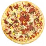 Pizza paistamisen jälkeen