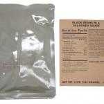 MRE Menu 2 lisäkkeen pakkaukset