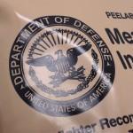 Virallisista MRE-pakkauksista löytyy aina USA:n puolustusministeriön logo