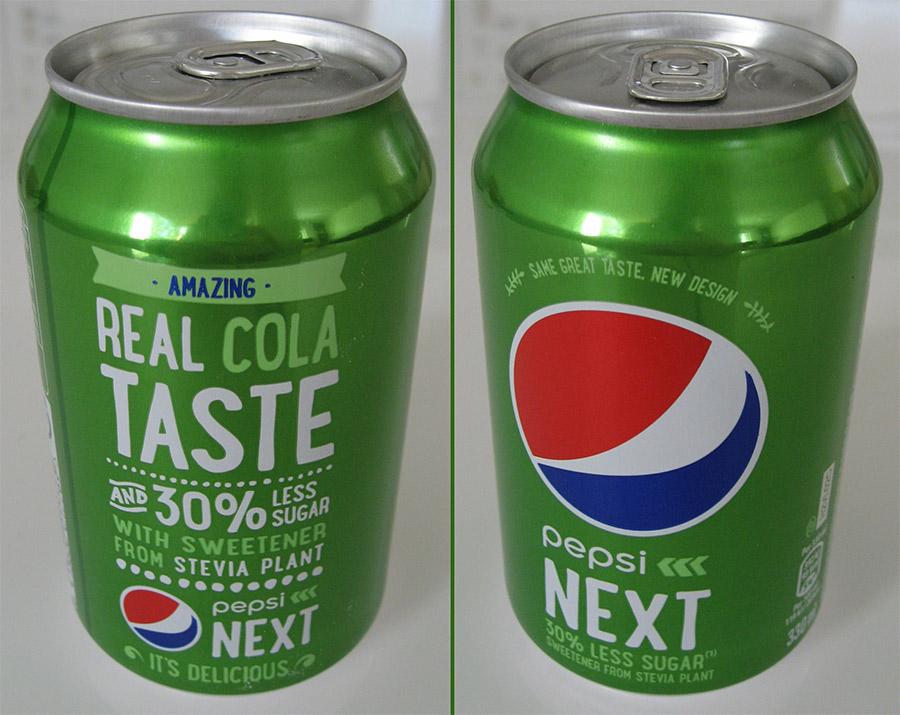 Arvostelussa Pepsi Next 33cl tölkissä
