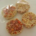 Paistamaton salami-pizzaburger