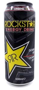 Kuva Rockstar energiajuoman tölkistä