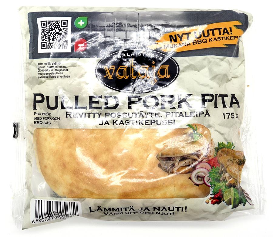 Vatajan Pulled Pork Pita pakkaus