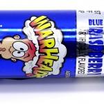 Warheads Blue Raspberry kirpeä spraykarkki